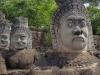 2667 Cambodja Angkor Thom South Gate